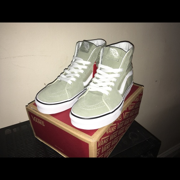 Vans Shoes | Vans Sk8hi Desert Sage